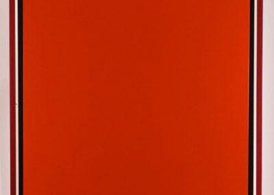 3 rouges, 2007 Technique mixte 119 x 104 x 7 cm
