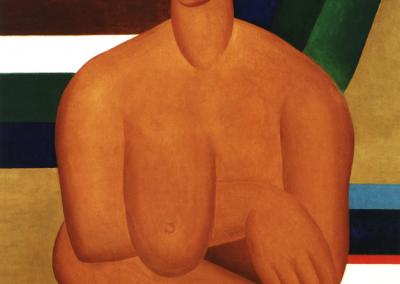 A negra, 1923 Huile sur toile 100 x 81,3cm