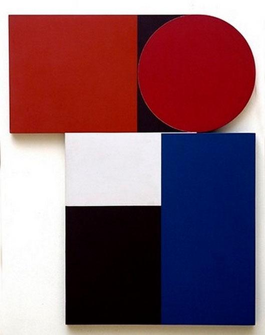 Arapey, 1999 Acrylique sur bois 126 x 100 cm