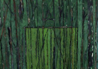 Arcade, 1987 Gouache sur papier 50 x 70 cm