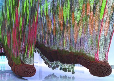 The bug suspended landscape, 2011, Technique mixte 7 x 45 x 21 m