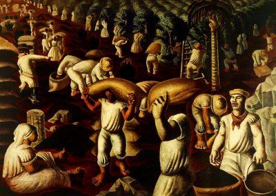 Café, 1935 Huile sur toile 130 x 195 cm