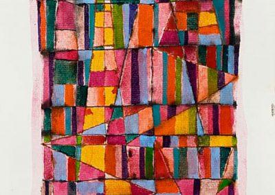 Cathédrale, 2006 Aquarelle sur papier 40 x 30 cm
