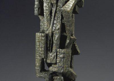 Ciudad herida, 1961 Bronze 75 x 30 x 17.5 cm