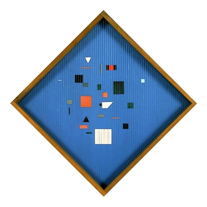 Composition géométrique, 1958 Technique mixte 49 x 49 cm