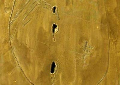 Concetto spaziale, 1961 Technique mixte 46 x 33 cm