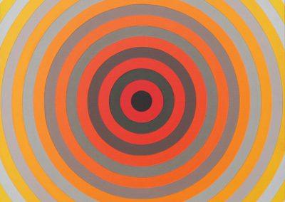 Dilatations B, 1973 Acrylique sur toile 50 x 50 cm