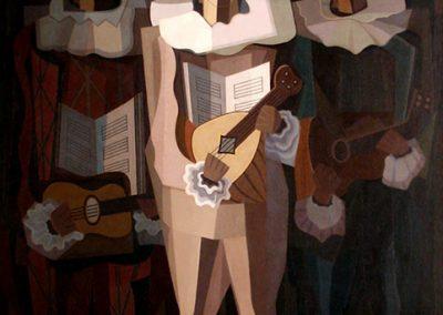 El improvisador, 1937 Huile sur toile 195 x 140 cm