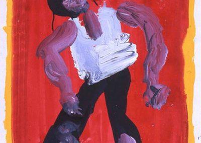 Eté XIIIème, 2002 Technique mixte 65 x 50 cm