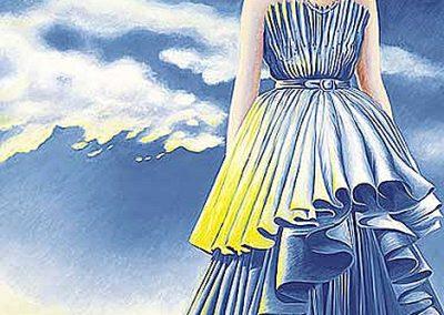 Eva Perón, 1972 Huile sur toile 270 x 190 cm