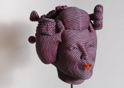 Femme de Kyoto 10, 2014 Technique mixte 35 X 40 X 35 cm