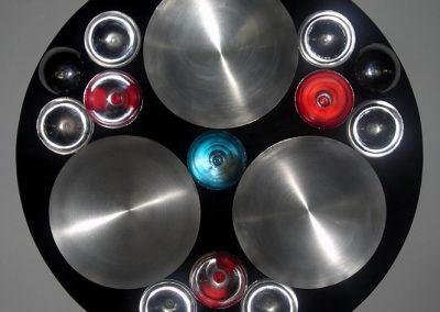 Geometría Sagrada, 2007 Technique mixte 70 x 10 cm