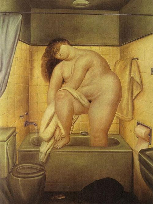 Hommage à Bonnard, 1972 Huile sur toile 70 x 48 cm