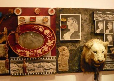 Hommage à Picasso, 1971 Technique mixte 150 x 210 cm