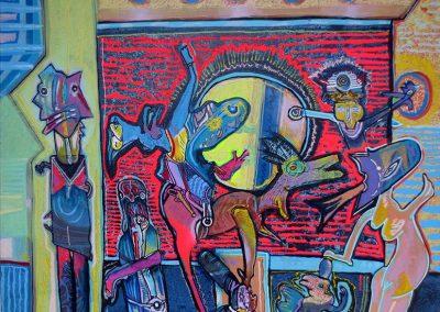 Série Huemul, 2009 Acrylique sur toile 150 x 200 cm