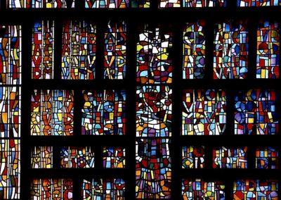 La création du monde, 1959 Vitraux du monastère de Couvrechef, Caen