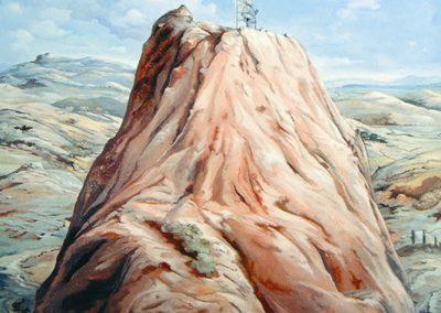 La montagne, 2004 Acrylique sur toile 120 x 120 cm