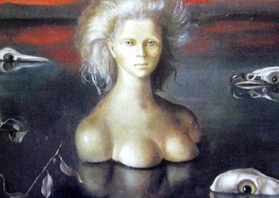 Le bout du monde, 1948 Huile sur toile 55 x 85 cm