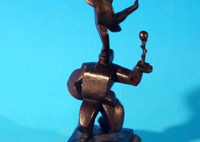Les acrobates, 1925 Bronze 112 x 54 x 33 cm