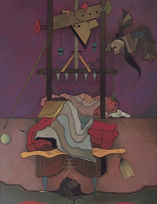Lisez! 1970 Huile sur toile 146 x 114 cm