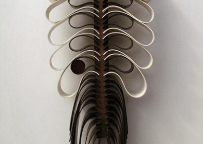 Méduse cerf-volant, 2008 Technique mixte 76 x 29 x 12 cm