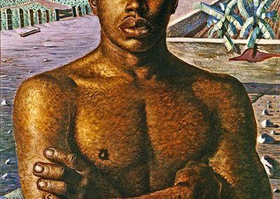 Métis, 1934 Huile sur toile 81 x 61 cm