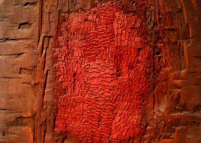Mosaïque n°84, 1962 Technique mixte sur bois 50 x 41 x 2 cm