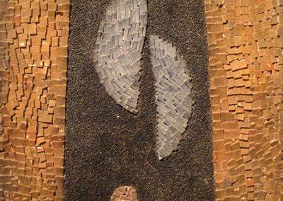 Mosaïque, 1960 Technique mixte 42 x 29 cm