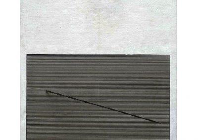 Mouvement horizontal, 1963 Technique mixte 63 x 28 x 17 cm