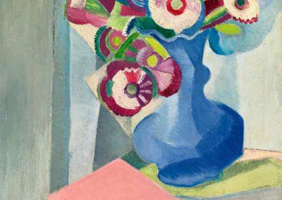 Nature morte avec vase, 1916 Huile sur bois 41 x 33 cm