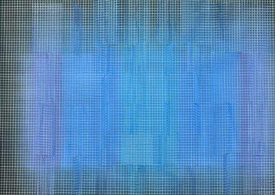 Passage n°2, 2010 Technique mixte 70 x 75 cm