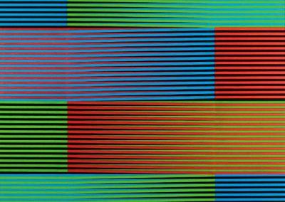 Physichromie 326, 1967 Acrylique sur masonite 120 x 120 cm