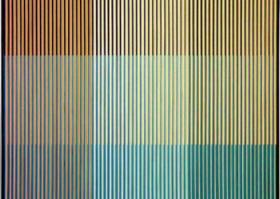 Physichromie 670, 1973 Technique mixte 61 x 60 cm