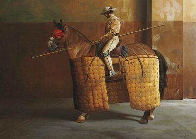 Picador, 1998 Huile sur toile 116 x 89 cm
