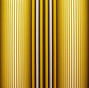 Prochromatique n°1063, 2009 Technique mixte 100 x 100 cm