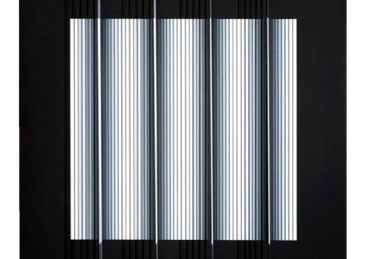 Prochromatique B n°1012, 2005 Technique mixte 75 x 76 cm