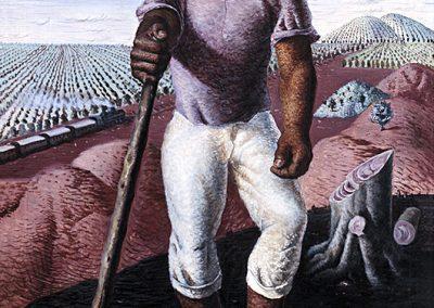 Le producteur de café, 1939 Huile sur toile 100 x 81 cm