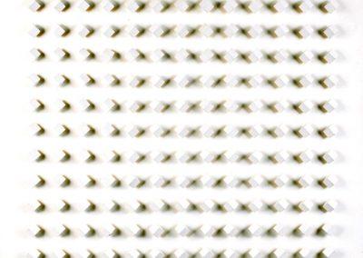 Réflexion n°101, 1963 Technique mixte 90 x 92 cm
