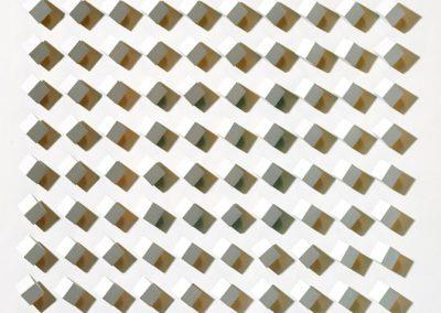N°1915 - atmosphère chromoplastique n°109, 1964 Technique mixte 65 x 65 cm