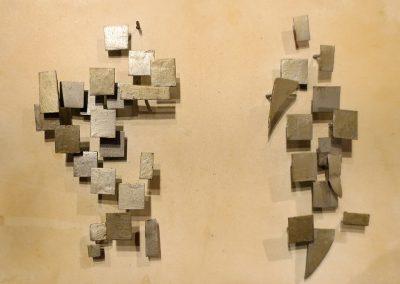 Réflexion n°22 A, 1966 Technique mixte 14 x 22 cm