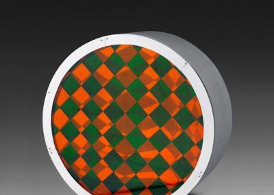 Réflexion changeante, 1964 Technique mixte 52 cm de diamètre