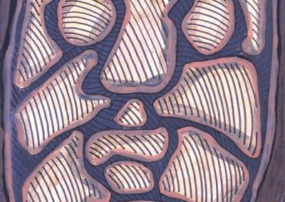 Sans titre, 1947 Technique mixte 35 x 24 cm