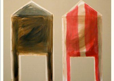Sans titre, 2008 Huile sur toile 162 x 130 cm