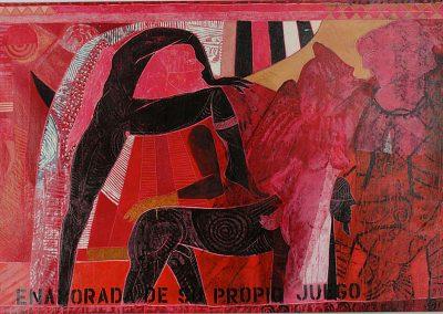 Sans titre, 2006 Acrylique sur toile 157 X 250 cm
