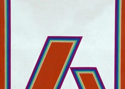 Sans titre, 1989 Huile sur toile 46 x 55 cm
