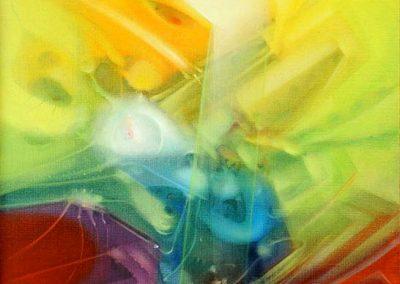 Sans titre, 1980 Huile sur toile 61 x 50 cm