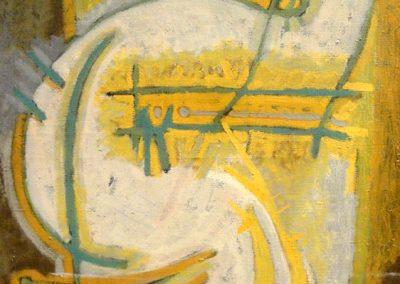 Sans titre, 1965 Huile sur toile 61 x 50 cm