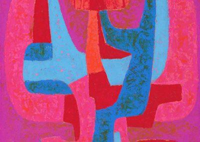 Sans titre, 1959 Huile sur toile 70 x 50 cm