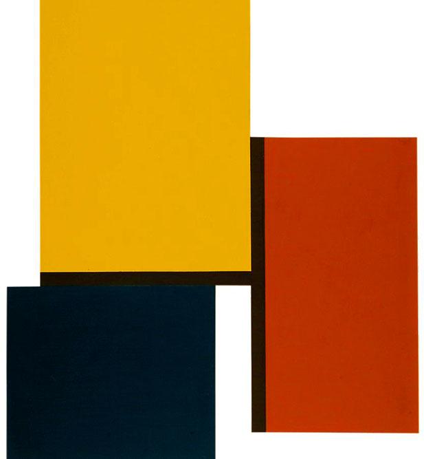 Sans titre, 2002 Acrylique sur carton 100 x 87 cm