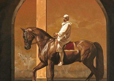 Sans titre, 1998 Huile sur toile 116 x 89 cm